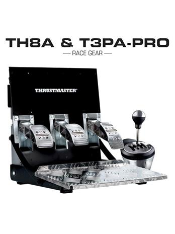 Thrustmaster TH8A + T3PA Pro Bundle, PC -polkimet