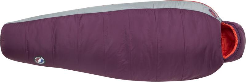 Big Agnes Blue Lake 25 Sleeping Bag Regular Women, beet/paprika