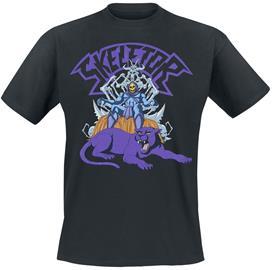 Masters Of The Universe - Skeletor On Throne - T-paita - Miehet - Musta