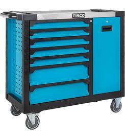 Timco Elite 7+1ltk 275-osainen työkaluvaunu työkaluilla