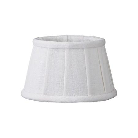 Lene Bjerre Lampunvarjostin Soft Linen ä˜15cm Valkoinen