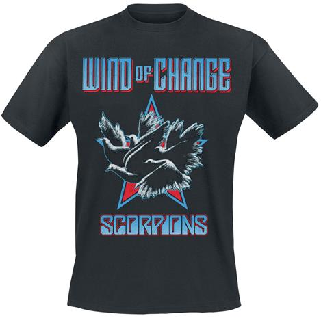 Scorpions - Wind Of Change - T-paita - Miehet - Musta