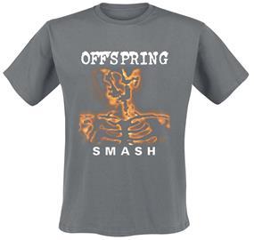 The Offspring - Smash - T-paita - Miehet - Hiilenharmaa