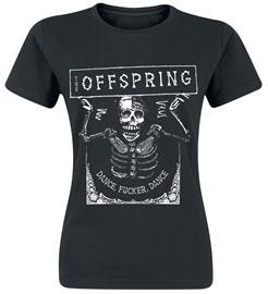 The Offspring - Dance Fucker - T-paita - Naiset - Musta