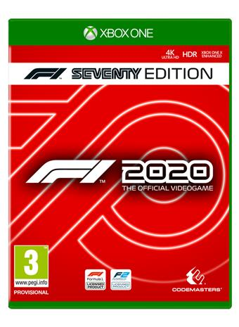 F1 2020 Seventy Edition, Xbox One -peli