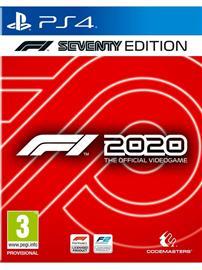 F1 2020 Seventy Edition, PS4 -peli