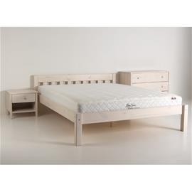 Sänky Papenburg, valkoinen mänty, 90x200 cm