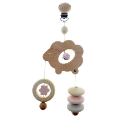 HESS Minitrapez-lampaat, luonnon vaaleanpunainen