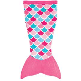 XTREM Toys and Sports FIN FUN Cuddle Tails merenneiton viltti, Pink Dream