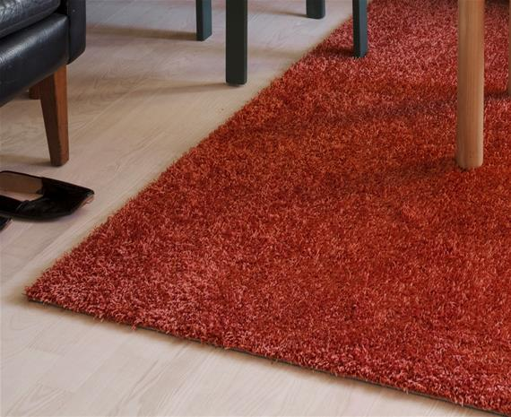 VM Carpet Tessa-matto, oranssi, ä˜ 240 cm
