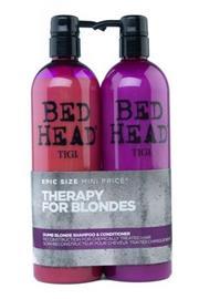 TIGI DUO 2 x 750ml Dumb Blonde shampoo ja hoitoaine