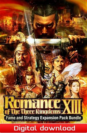 Romance of the Three Kingdoms 13 (XIII) - Fame and Strategy Expansion Pack Bundle, PC-peli