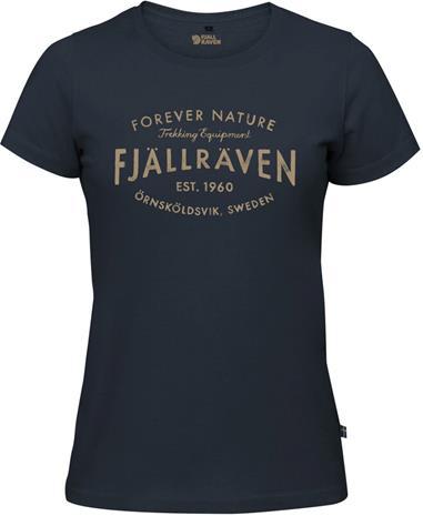 Fjällräven Est. 1960 T-Shirt Women, navy