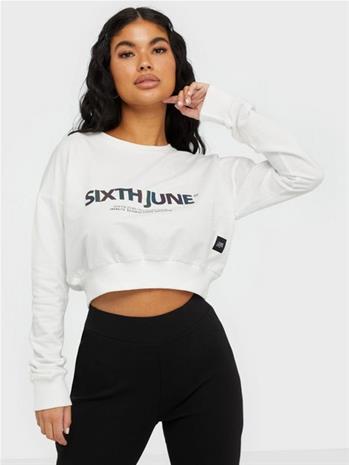 Sixth June Crop Sweatshirt