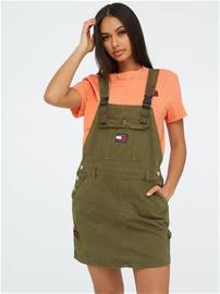 Tommy Jeans Dungaree Dress Olvt