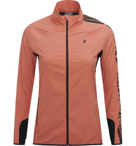 Peak Performance W ECLECTIC JACKET CLAY RED