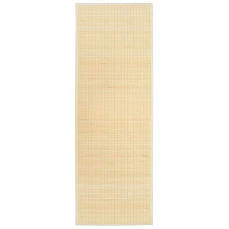 vidaXL Joogamatto bambu 60x180 cm luonnollinen