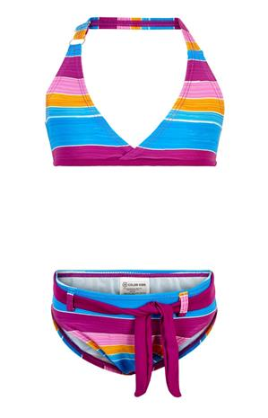 Color Kids UV-Bikinit UPF 40+, Berry, 92
