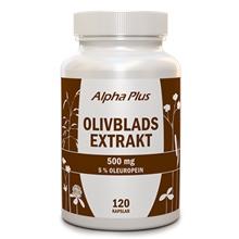 Olivbladextrakt 120 kapselia