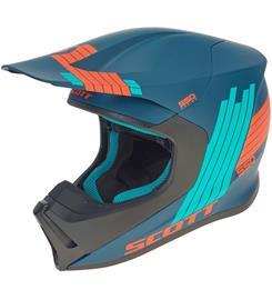 Scott 550 Stripes ECE sininen crossikypärä