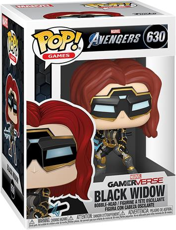Avengers - Black Widow (Glow in the Dark) (Chase Edition möglich) Vinyl Figur 630 - Funko Pop! -figuuri - Unisex - multicolor