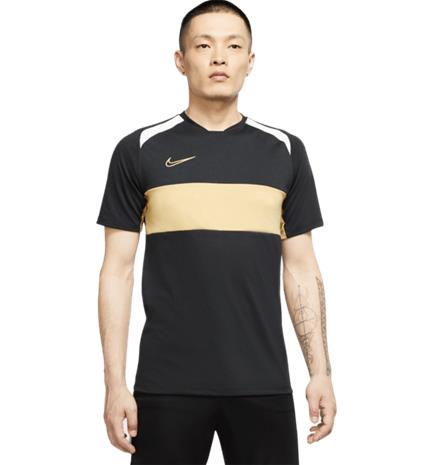 Nike M NK DRY ACD TOP SS SA BLACK/JERSEY GOLD