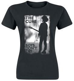 The Cure - Boys Don't Cry - T-paita - Naiset - Musta