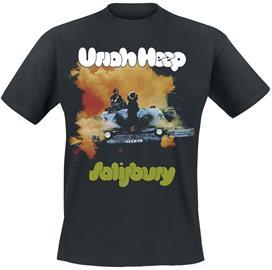 Uriah Heep - Salisbury - T-paita - Miehet - Musta