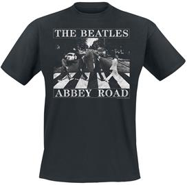 The Beatles - Abbey Road Distressed - T-paita - Miehet - Musta