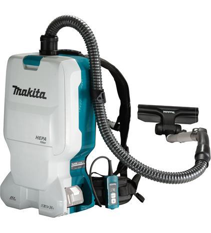 Makita DVC660Z LXT 2x18V, reppurimuri lattiavarustuksella (ilman akkua ja laturia)