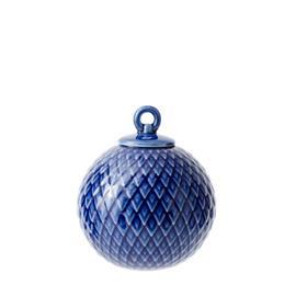 Lyngby Porcelæn Rhombe, koristepallo 7 cm