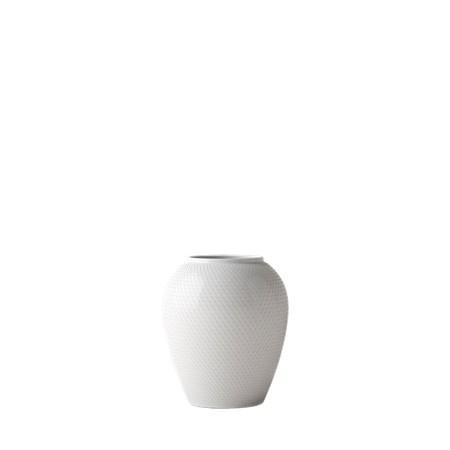 Lyngby Porcelæn Rhombe, maljakko 17 cm
