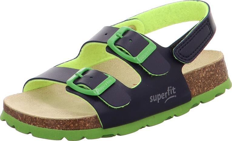 Superfit Fussbett Sandaalit, Blue, 24