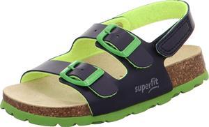 Superfit Fussbett Sandaalit, Blue, 25