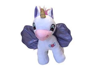 Wonder Wings - Unicorn - White with Purple Wings
