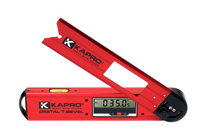 Astekulmavaaka digital Kapro