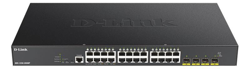 D-Link DGS-1250-28XMP, kytkin