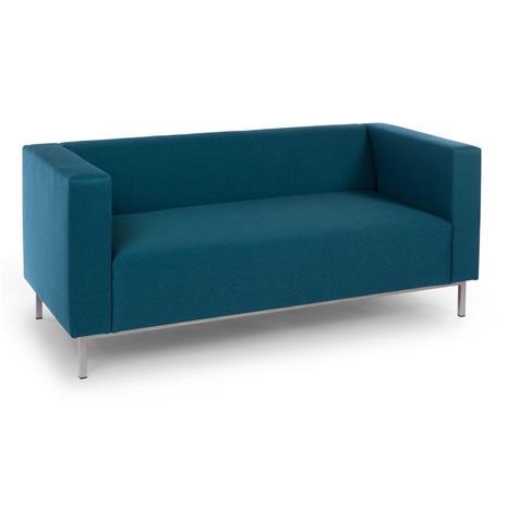 2:n istuttava sohva Office, tummanharmaa (Etna 96)