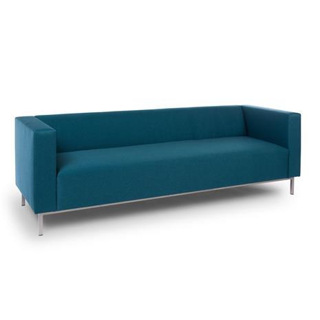 3:n istuttava sohva Office, oranssi (Etna 56)
