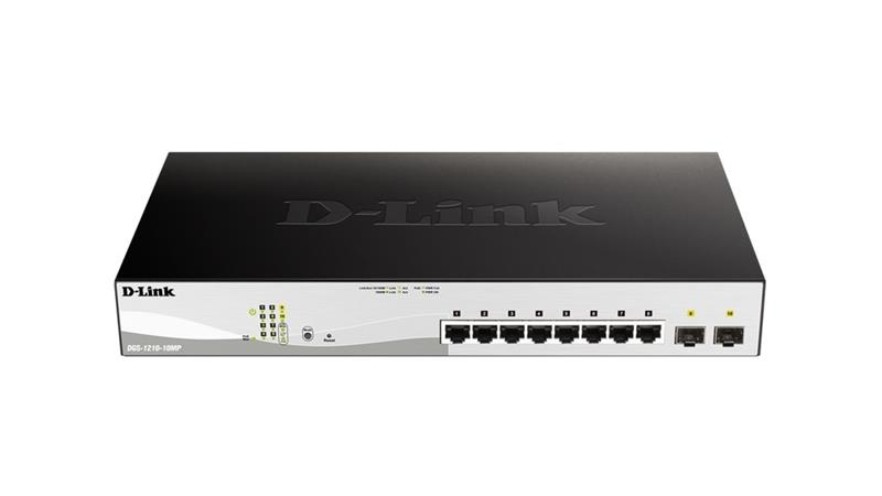 D-Link 10-Port Managed switch DGS-1210, kytkin