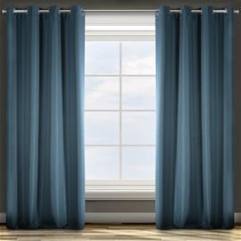Verho Elisa, sininen, 140 x 250 cm, 1 kpl