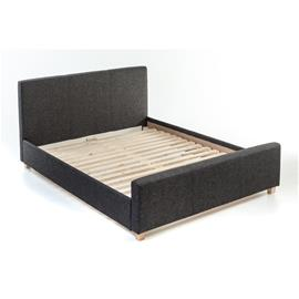 Sänky, vaaleanharmaa (Etna 15), 160x200 cm