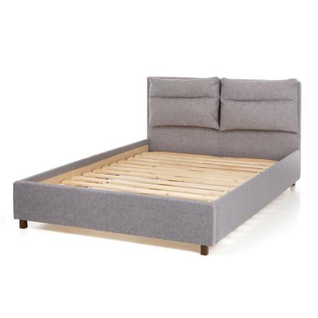 Sänky Pillow, harmaa (Adria 07), 160x200 cm