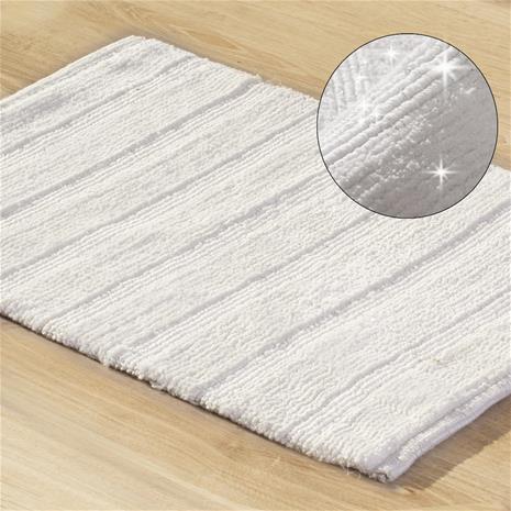 Kylpyhoneen matto Laris, kerma, 50 x 70 cm
