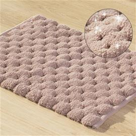 Kylpyhuoneen matto Lucas, roosa, 50 x 70 cm