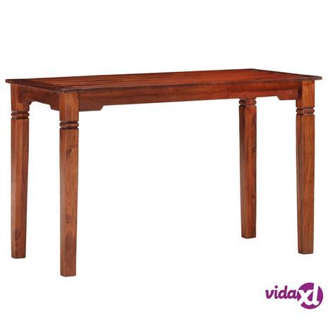 vidaXL Ruokapöytä 120x60x76 cm täysi akaasiapuu
