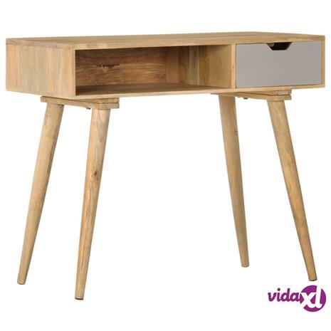 vidaXL Konsolipöytä 89x44x76 cm täysi mangopuu