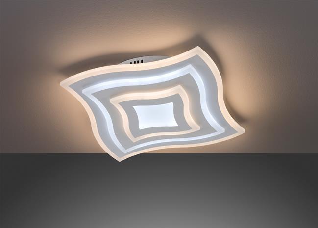Honsel Gorden TW 20486, led-kattovalaisin 38 V, 43 x 43 cm