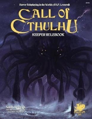 Call of Cthulhu Keeper Rulebook - Revised Seventh Edition: Horror Roleplaying in the Worlds of H.P. Lovecraft, kirja