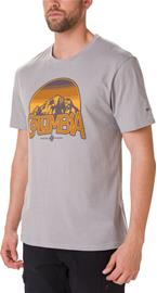 Columbia Basin Butte SS Graphic Tee Men, columbia grey heather/branded sunshade